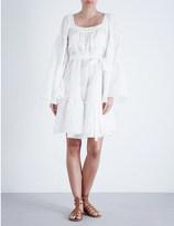 Lisa Marie Fernandez tiered cotton-blend dress