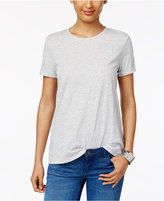 Style&Co. Style & Co Rolled-Cuff T-Shirt, Only at Macy's