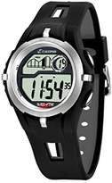 Calypso Unisex Digital Watch with LCD Dial Digital Display and Black Plastic Strap K5511/1