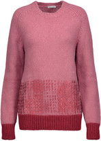 Tomas Maier Metallic alpaca-blend sweater