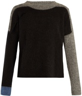 Acne Studios Rafa round-neck intarsia-knit sweater