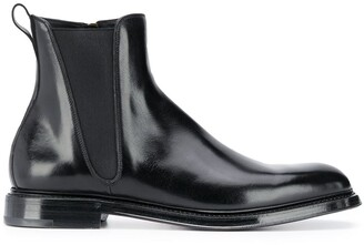 Dolce & Gabbana Side-Zip Ankle Boots