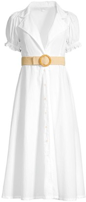 WeWoreWhat Bella Midi Shirt Dress