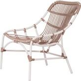David Francis Furniture Cyprus Coronado Stacking Patio Chair Color: Cafe