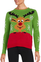 Context Reindeer Christmas Sweater