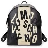 Love Moschino Logo-Print Backpack