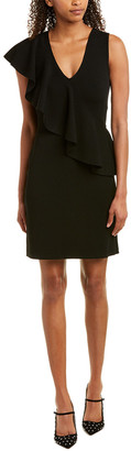 Diane von Furstenberg Ruffle Sheath Dress