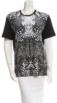 McQ by Alexander McQueen Snake Printed Crew Neck T-Shirt