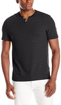 Kenneth Cole New York Men's Shadowstripe Henly