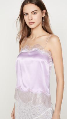 ANAÏS JOURDEN Lilac Silk Satin Camisole