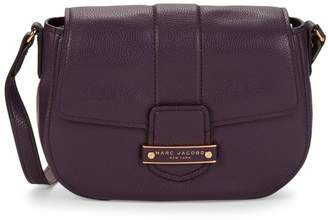 Marc Jacobs Mini Pebbled-Leather Saddle Bag