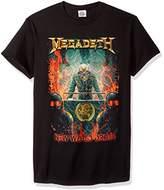 FEA Men's Megadeth New World Order T-Shirt