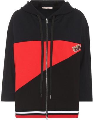 Marni Cotton-blend hoodie