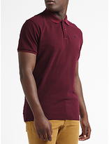 Scotch & Soda Micro Diamond Polo, Red