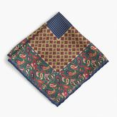 J.Crew Silk pocket square in mixed patterns