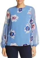 Yumi Kim Executive Floral Print Top