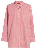 Denimist Striped Button Front Shirt