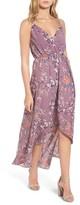 Soprano Women's Wrap Maxi Dress