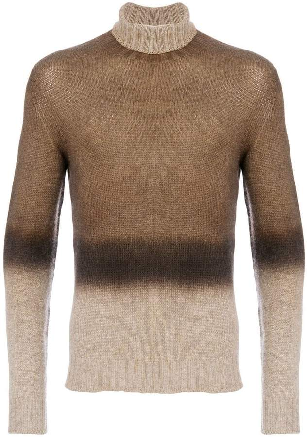 Etro gradient knit jumper