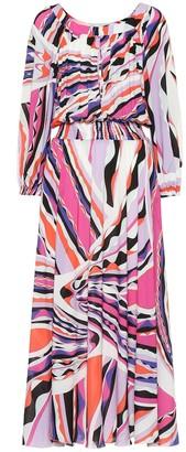 Emilio Pucci Beach Printed midi dress