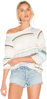 Wildfox Couture Beach Towel Stripes Top