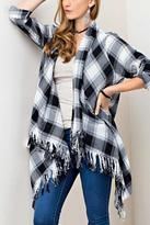 Umgee USA Plaid Cardigan