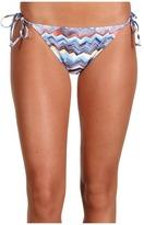 Quiksilver Zig Zag Classic String Bikini Bottom