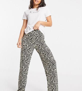 Asos Tall ASOS DESIGN Tall mix & match leopard print pajama pants in multi