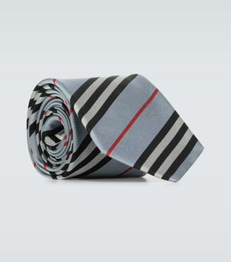 Burberry Monston striped silk tie