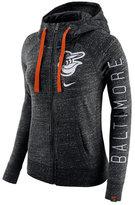 Nike Women's Baltimore Orioles Gym Vintage Full-Zip Hooded Sweatshirt