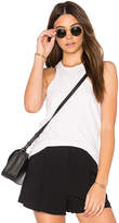 Theory Samek B Tank in White. - size L (also in M,S)