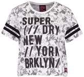 Superdry BROOKLYN RETRO Print Tshirt grey