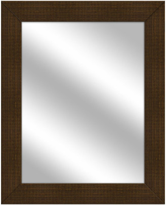 PTM Images Over the sink Vanity Mirror, Natural Wood, 25.5x31.5