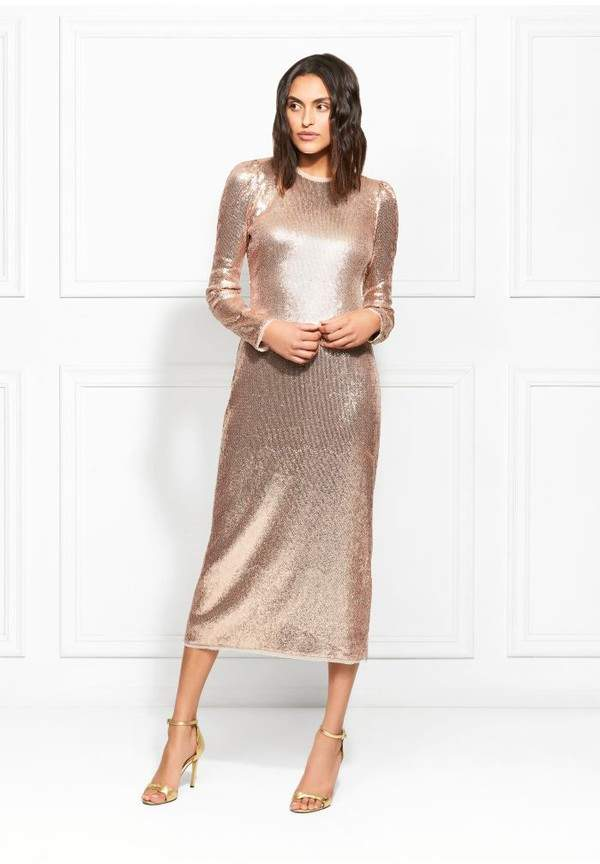 9069b385e82f Silver Sequin Girls Dress - ShopStyle