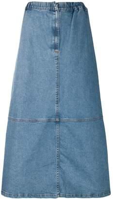 Zucca A-line denim skirt