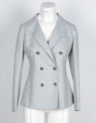 Eleventy Women's Gray Blazer