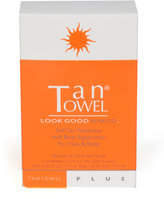 TanTowel 5 Pack Self-Tanning Towelettes for Medium to Dark Skin Tones