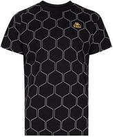 Kappa Black Oldham All-over Print T-shirt*