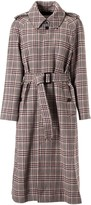 Celine Checked Trench