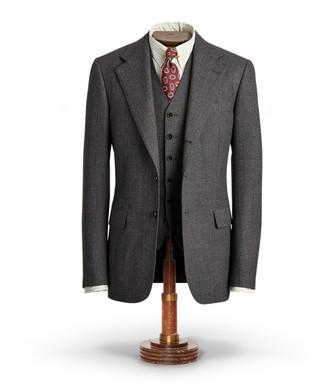 Ralph Lauren Wool Herringbone Sport Coat
