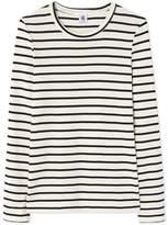 Petit Bateau Womens long-sleeved striped T-shirt