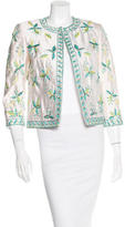 Michael Kors Embroidered Silk Jacket w/ Tags