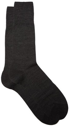 Falke No. 6 Merino-wool Blend Socks - Dark Grey