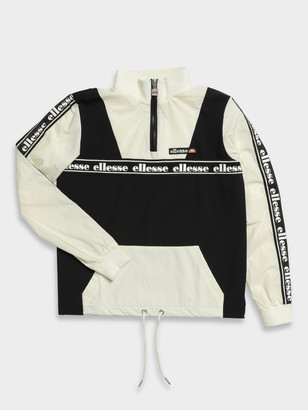 Ellesse Erna Zip Jacket in Black Off White