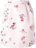 RED Valentino floral print pegged skirt