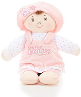 "Gund My First Dolly 13"" Plush Doll"