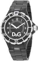 DG THE BRAND D&G Women's Dolce & Gabbana New Anchor Analog Watch Black DW0662