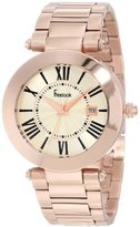 Freelook Women's HA1537RGM-9 All Rose Gold Shiny Dial Watch