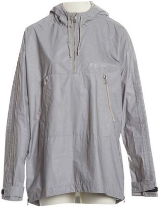 adidas Grey Polyester Jackets