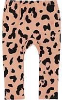 Munster Kids' Leopard-Print Cotton Pants
